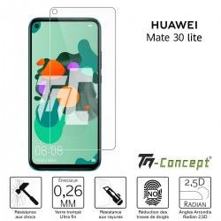 Huawei Mate 30 Lite - Verre trempé TM Concept® - Gamme Crystal