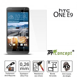 HTC One E9 - Vitre de Protection Crystal - TM Concept®