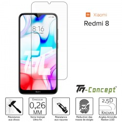 Xiaomi Redmi 8 - Verre trempé TM Concept® - Gamme Crystal