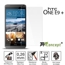 HTC One E9 Plus - Vitre de Protection Crystal - TM Concept®