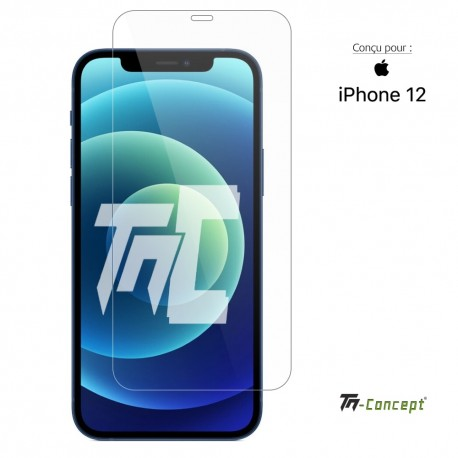 Apple iPhone 12 - Verre trempé TM Concept® - Gamme Crystal