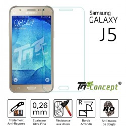 Samsung Galaxy J5 (2015) - Vitre de Protection Crystal - TM Concept®