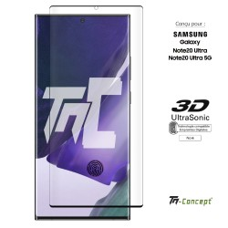 Samsung Galaxy Note 20 Ultra - Verre trempé 3D incurvé - TM Concept®