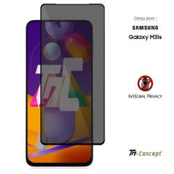 Xiaomi Poco X3 - Verre trempé intégral Protect Noir - adhérence 100% nano-silicone - TM Concept®