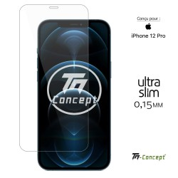 Apple iPhone 12 Pro - Verre trempé Ultra Slim 0,15 mm - TM Concept®