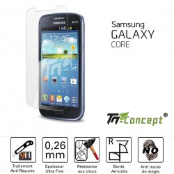 Samsung Galaxy Core - Vitre de Protection Crystal - TM Concept®