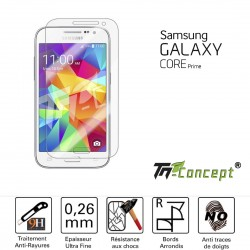 Samsung Galaxy Core Prime - Vitre de Protection Crystal - TM Concept®