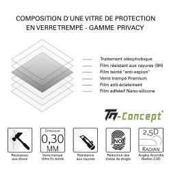 Samsung Galaxy S21 - Verre trempé TM Concept® - Gamme Crystal