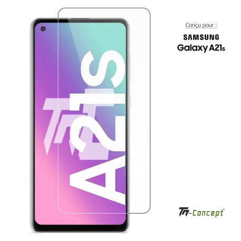 Samsung Galaxy A21s - Verre trempé TM Concept® - Gamme Crystal