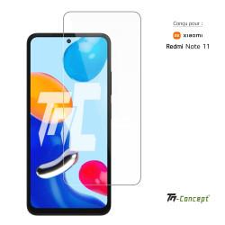 OnePlus 7 Pro - Verre trempé incurvé 3D Silicone - TM Concept®