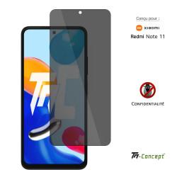 OnePlus 7T Pro - Verre trempé incurvé 3D Silicone - TM Concept®