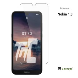 Nokia 1.3 - Verre trempé TM Concept® - Gamme Crystal