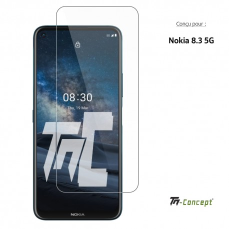 Nokia 8.3 - Verre trempé TM Concept® - Gamme Crystal