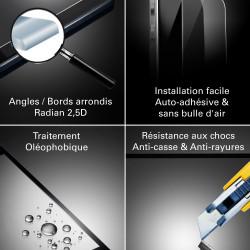 Wiko Sunset - Vitre de Protection Crystal - TM Concept®