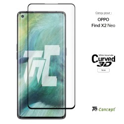 Oppo Find X2 Neo - Verre trempé 3D incurvé - TM Concept®
