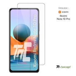 Xiaomi Redmi Note 10 Pro - Verre trempé TM Concept® - Gamme Crystal