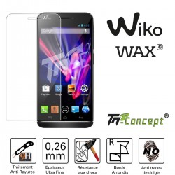 Wiko Wax - Vitre de Protection Crystal - TM Concept®