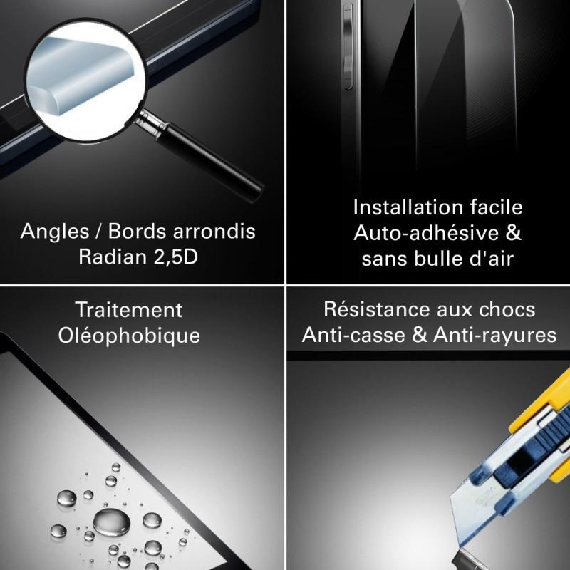 Wiko Wax - Vitre de Protection Crystal - TM Concept®