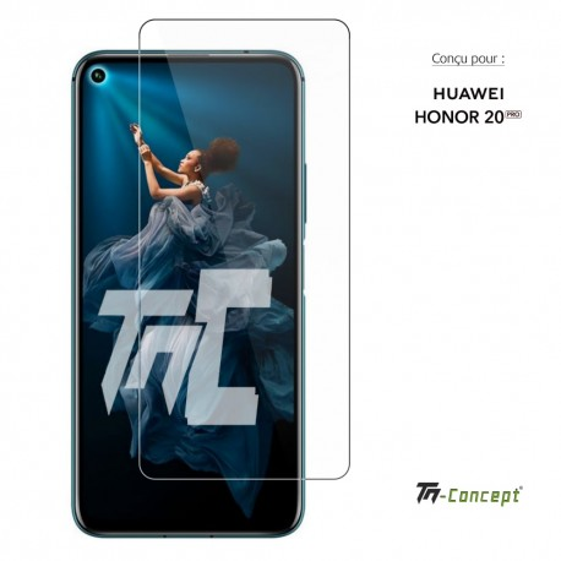 Huawei Honor 20 Pro - Verre trempé TM Concept® - Gamme Crystal