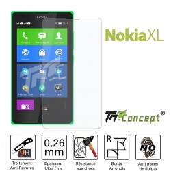 Nokia Lumia XL - Vitre de Protection Crystal - TM Concept®