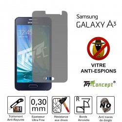 Samsung Galaxy A3 - Vitre de Protection Anti-Espions - TM Concept®