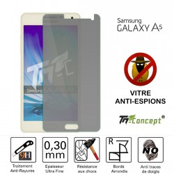 Samsung Galaxy A5 - Vitre de Protection Anti-Espions - TM Concept®
