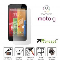 Motorola Moto G - Vitre de Protection Crystal - TM Concept®