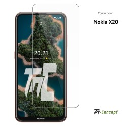 Nokia X20 - Verre trempé TM Concept® - Gamme Crystal