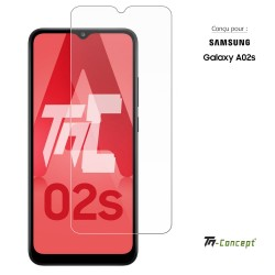 Samsung Galaxy A02s - Verre trempé TM Concept® - Gamme Crystal