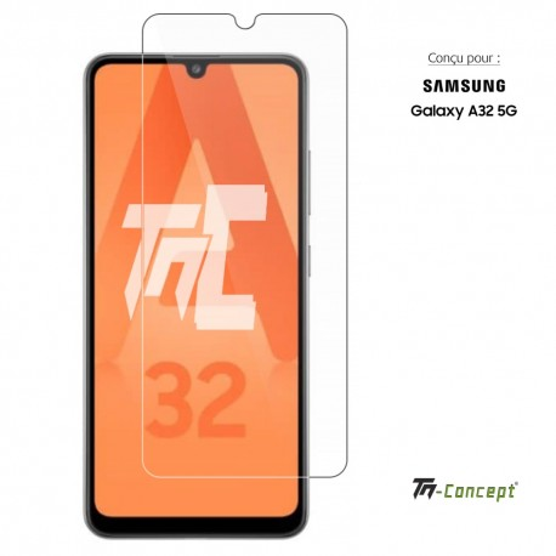 Samsung Galaxy A32 5G - Verre trempé TM Concept® - Gamme Crystal