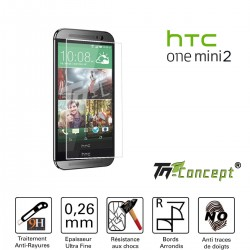 HTC One Mini 2 - Vitre de Protection Crystal - TM Concept®