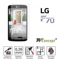 LG F70 - Vitre de Protection Crystal - TM Concept®