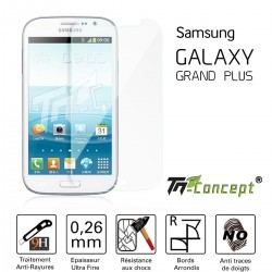 Samsung Galaxy Grand Plus - Vitre de Protection Crystal - TM Concept®