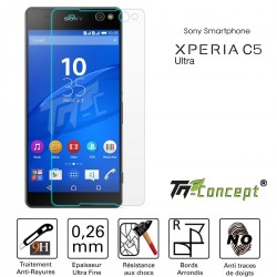 Sony Xperia C5 Ultra - Vitre de Protection Crystal - TM Concept®