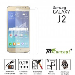 Samsung Galaxy J2 - Vitre de Protection Crystal - TM Concept®