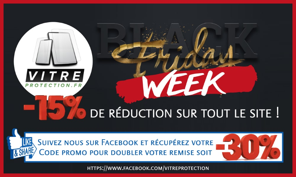 Cyber Week 2020 sur Vitre-Protection.fr